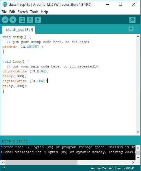 Contoh Program Arduino : contoh, program, arduino, Berkedip, Arduino, (cara, Membuat, Contoh, Program), Andrian