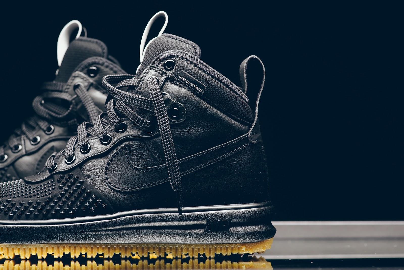 Nike Lunar Force 1 Duckboot - Black/Gum.