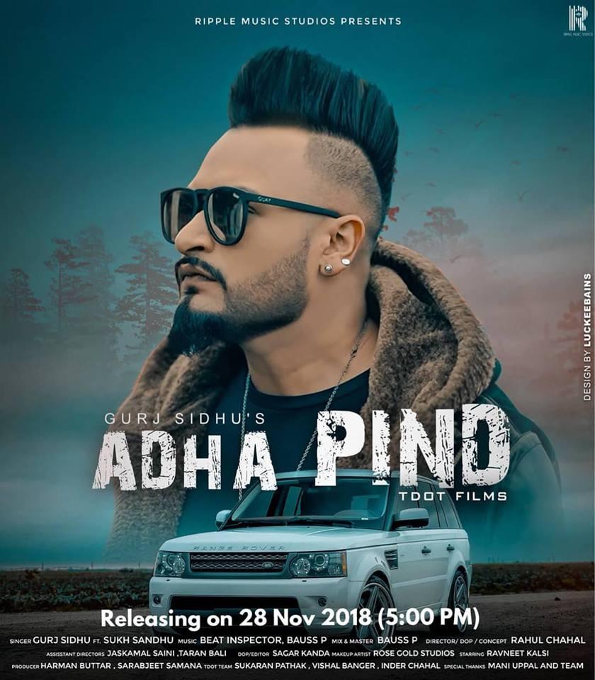 Adha Pind  Gurj Sidhu  new song