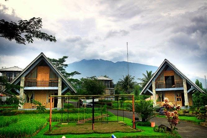 Contoh Rumah Kebun - Villa Di Puncak