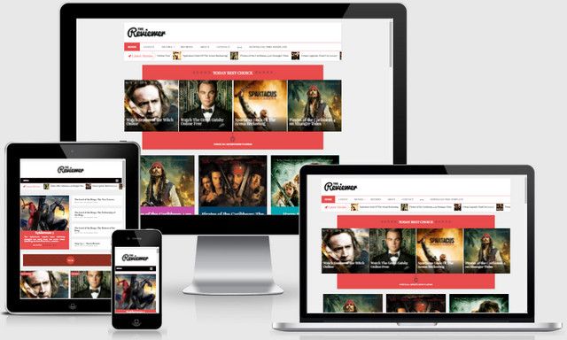 The Reviewer Responsive Blogger Templates