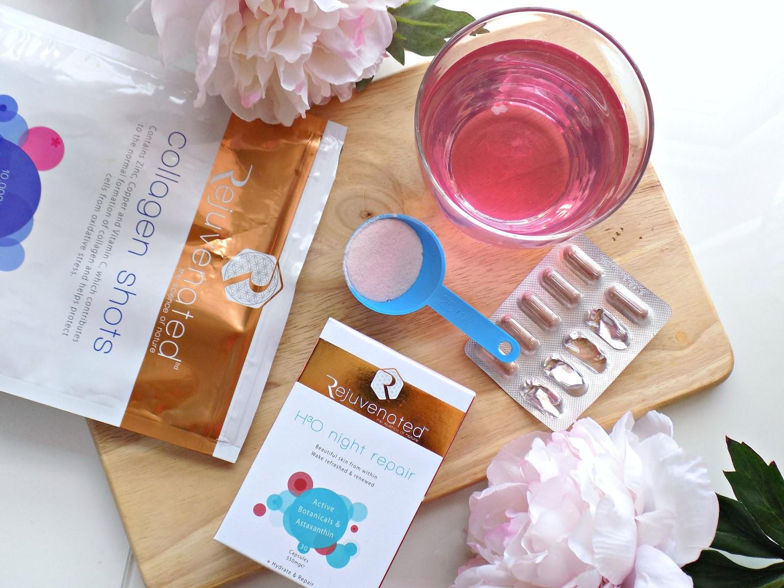 Rejuvenated collagen shots, rejuvenated supplements