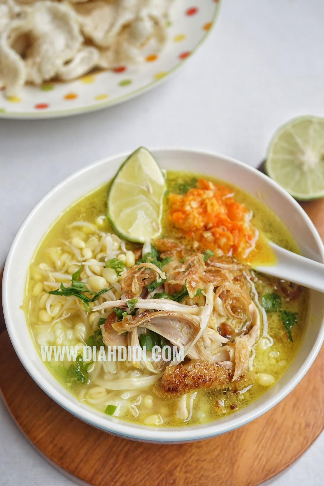 Resep Soto Ayam Bening Kuning : resep, bening, kuning, Didi's, Kitchen:, Kemiri, Tanpa, Santan