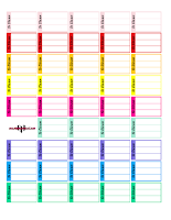 to clean planner printable free
