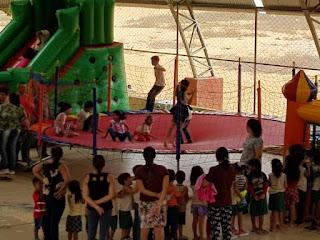 Prefeitura de Picuí comemora o Dia da criança nos Distritos de Serra dos Brandões e Santa Luzia do Seridó