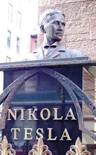 Busto de Nikola Tesla en Nueva York