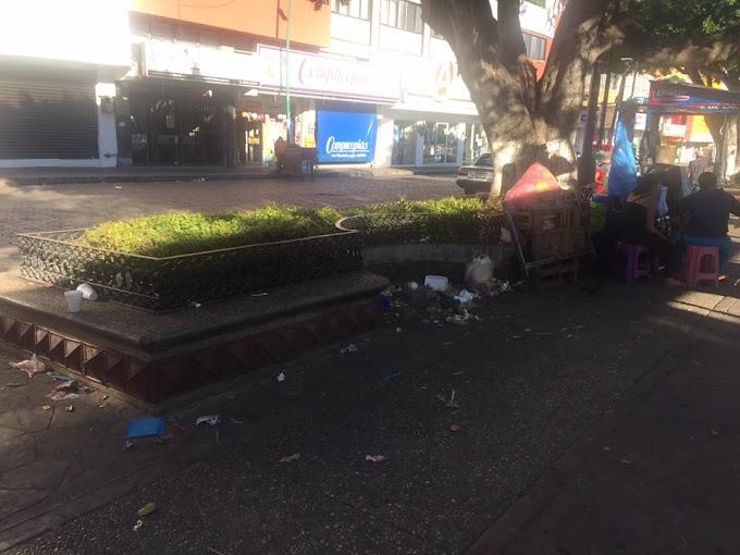 SUCIA Y ABANDONADA LA CAPITAL DE CHIAPAS