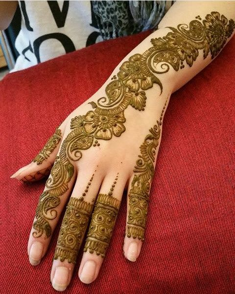 Mehandi Design for Hands 1