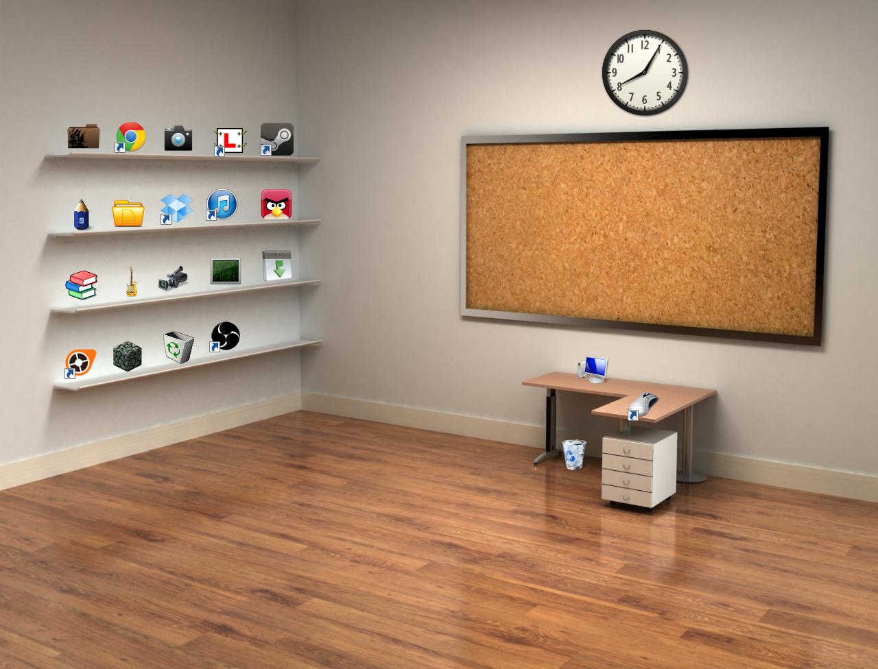 Classic 3D Desktop+Icon - Zisan Suleiman