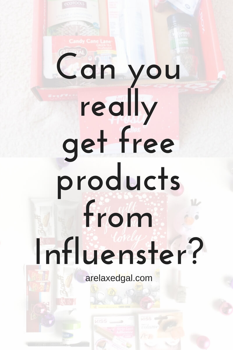 how to get free stuff through influenster