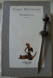 Portada del libro Necrópolis, de Hubert Monteilhet