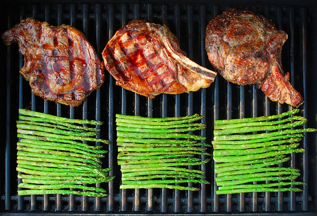 how to grill a steak, eating fabulously, christopher stewart