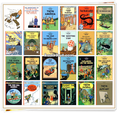 The Adventures Of Tintin Full Comic Book Collecton