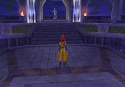 Dragon Quest VIII - El Periplo del Rey Maldito - Estatua Torre Alexandria