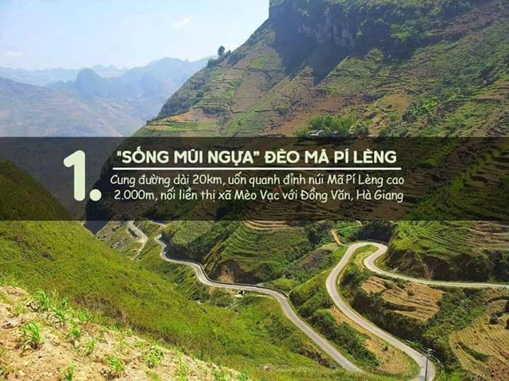 Đèo Mã Pí Lèng (Đồng Văn, Hà Giang)