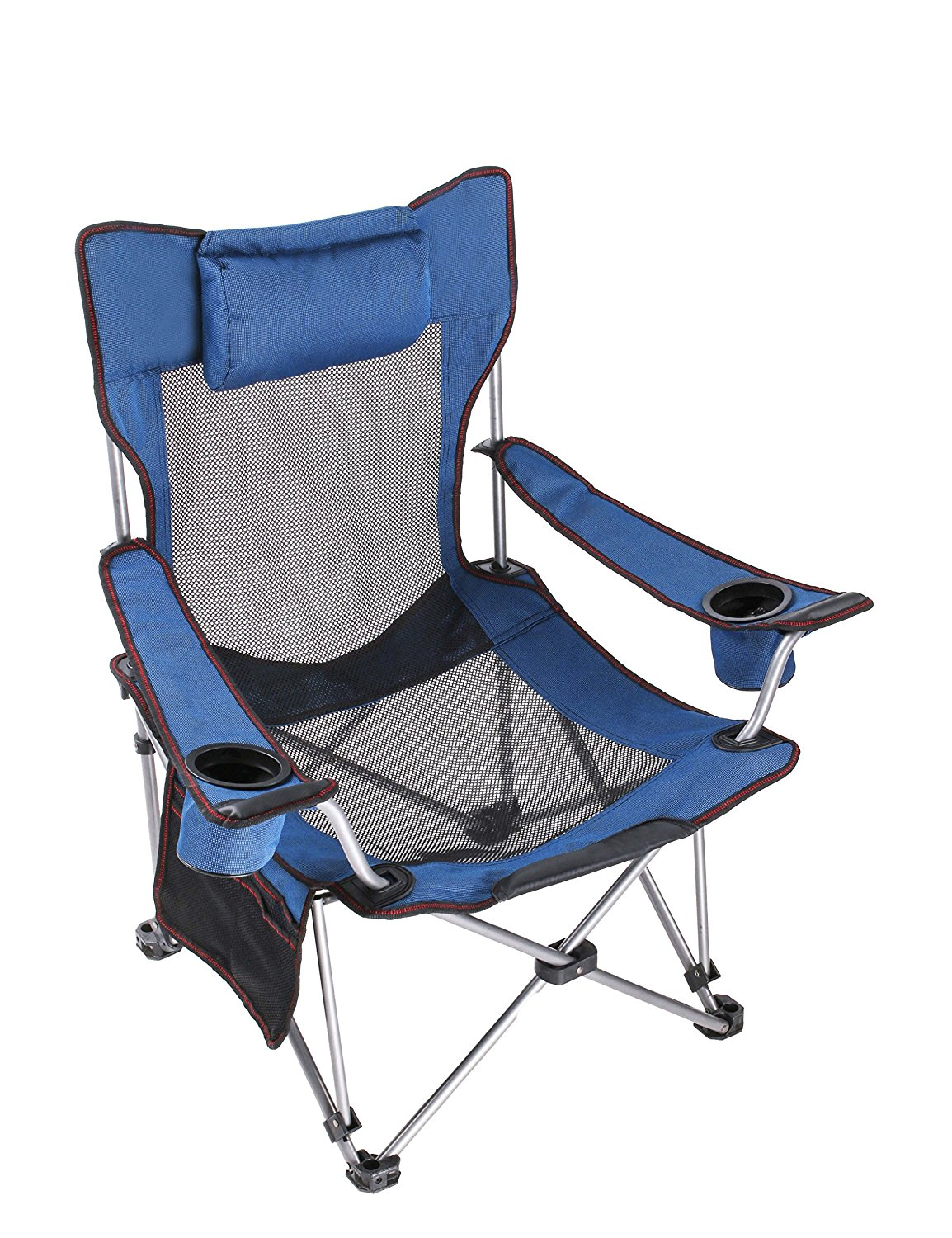 Fishing Chair With Headrest Bedroom Online India Lightweight Reclining Camping Standard Size