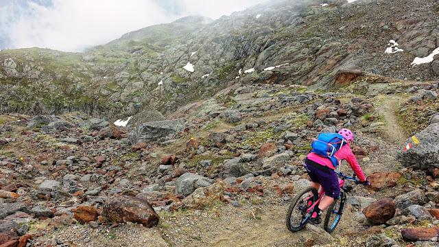 Trailschwierigkeit Sölden Geislachkogel