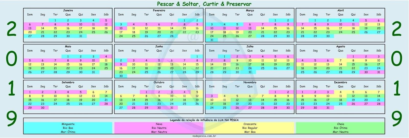 Calendario De Pesca.Top 10 Punto Medio Noticias Calendario Lunar 2019 Pesca Portugal