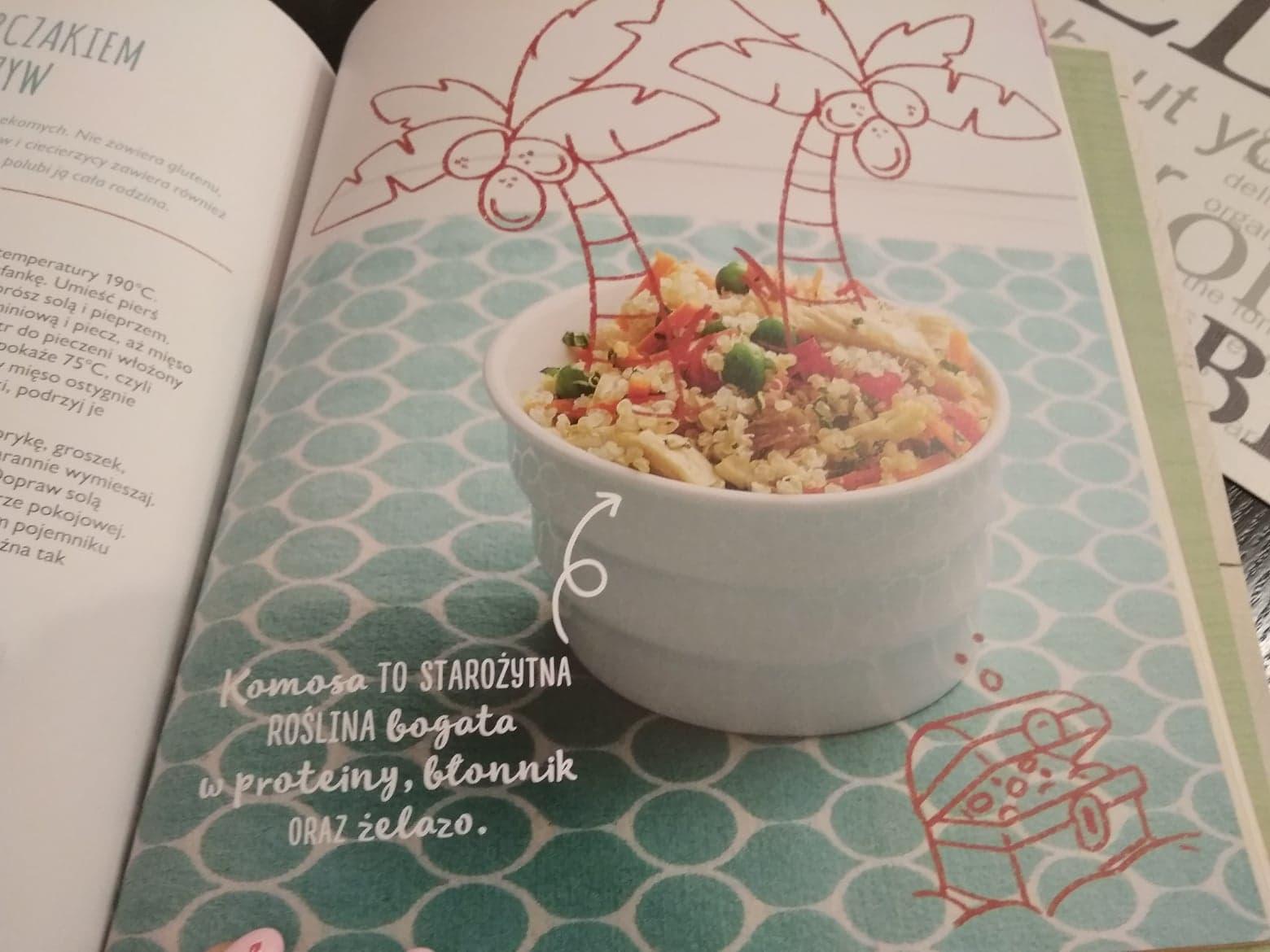 zdrowa kuchnia bobasów i brzdąców