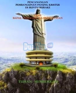 Tana Toraja Resmikan Patung Tuhan Yesus Tertinggi Di Dunia