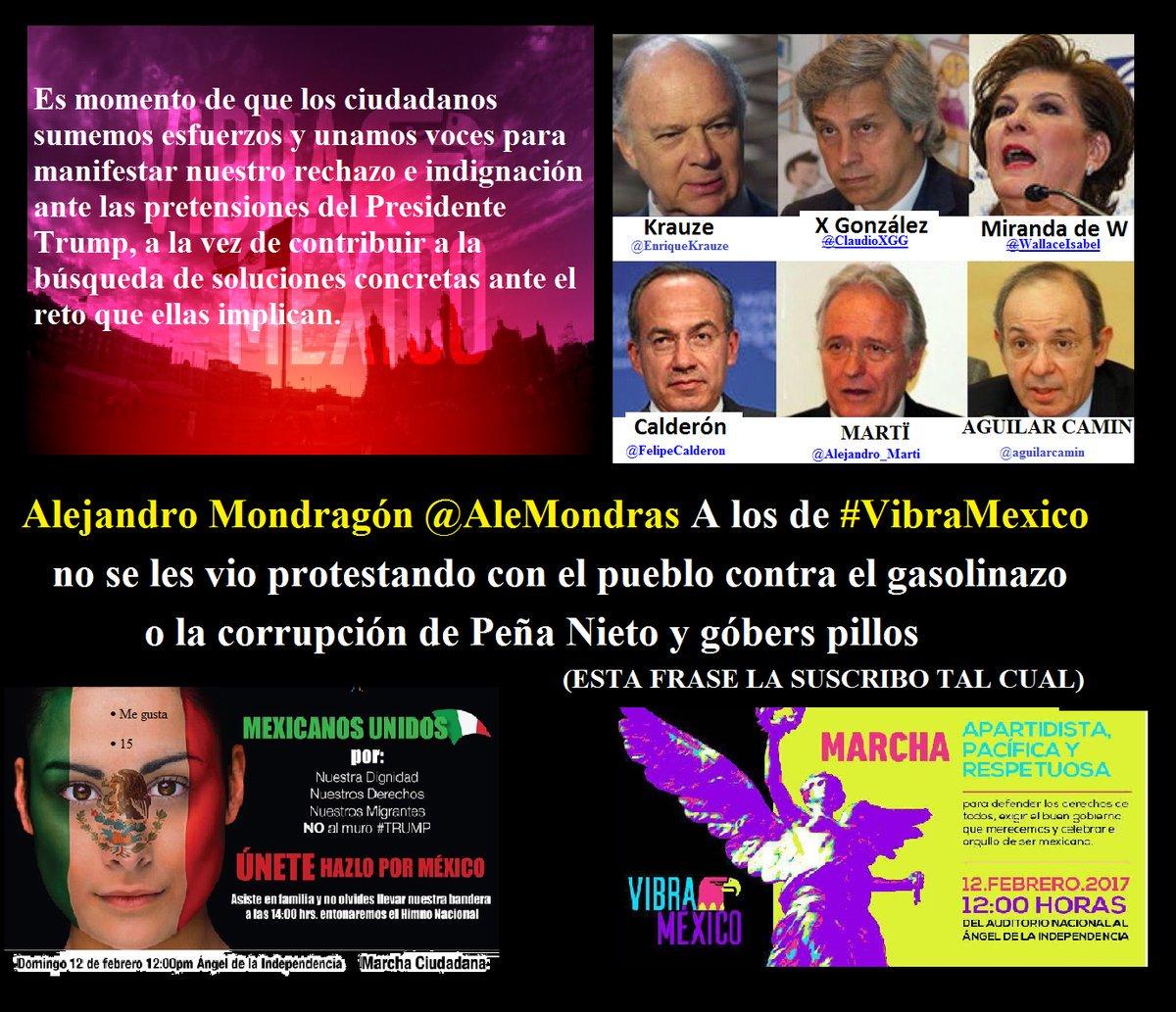 Ambas marchas son percibidas como en apoyo a Peña. FOTO: Twitter @AleMondras