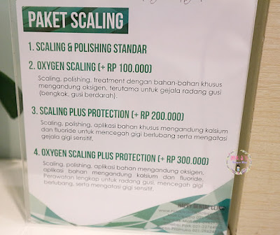 harga Oxygen Scaling and Protection Treatment di Happy Dental Clinic