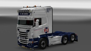 R de Jong skins for Scania RJL