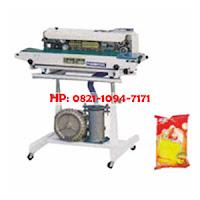 Continuous Sealer (mesin pengemas plastik makanan semi otomatis)