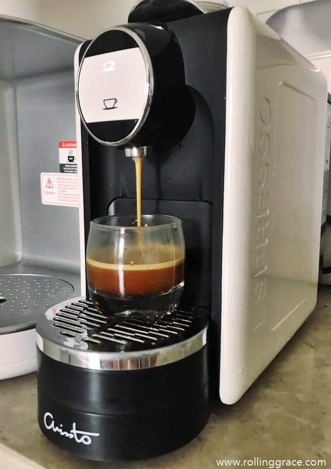 Brew Great Coffee At Home With Arissto Rolling Grace