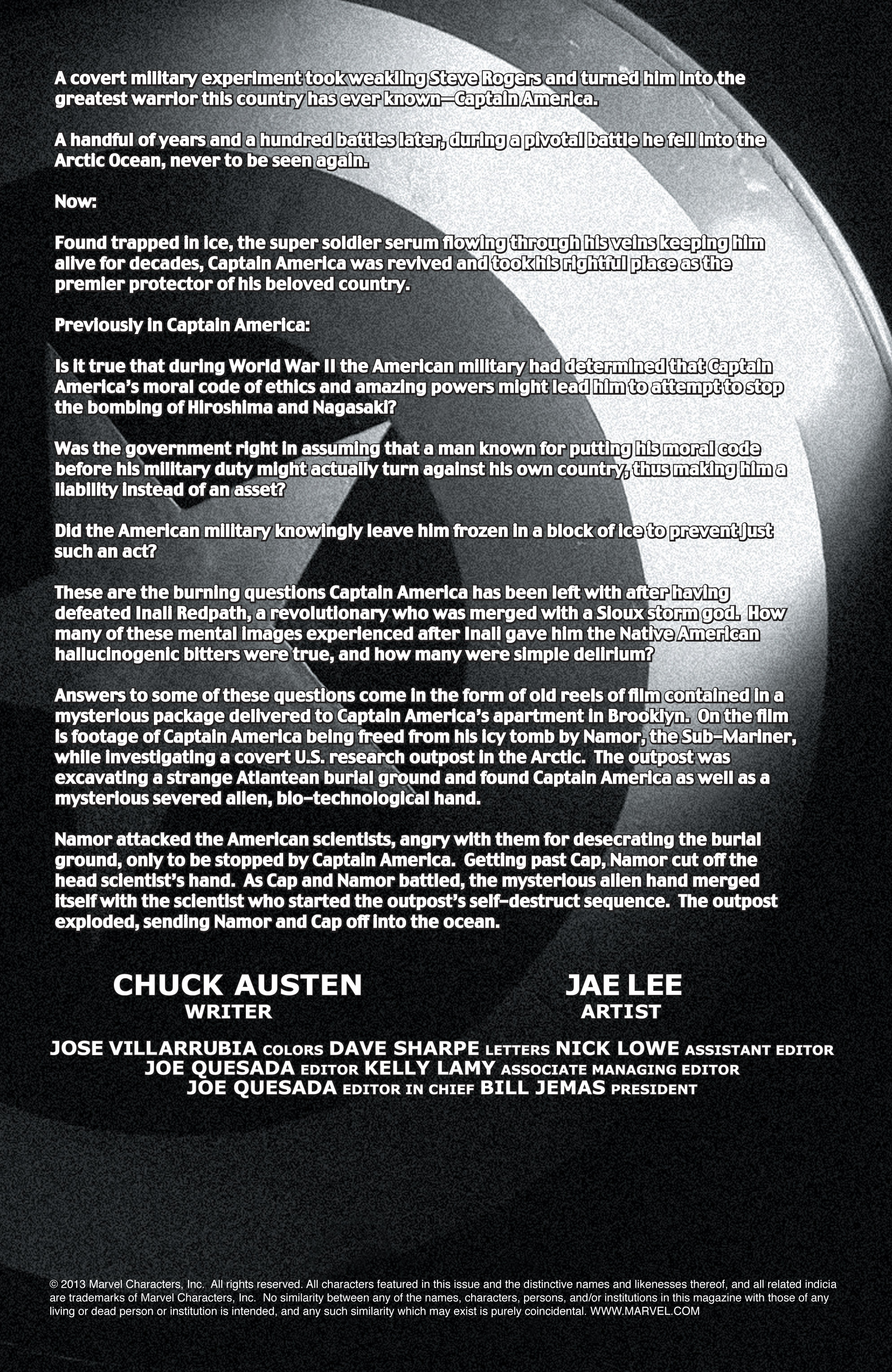 Captain America (2002) Issue #13 #14 - English 2