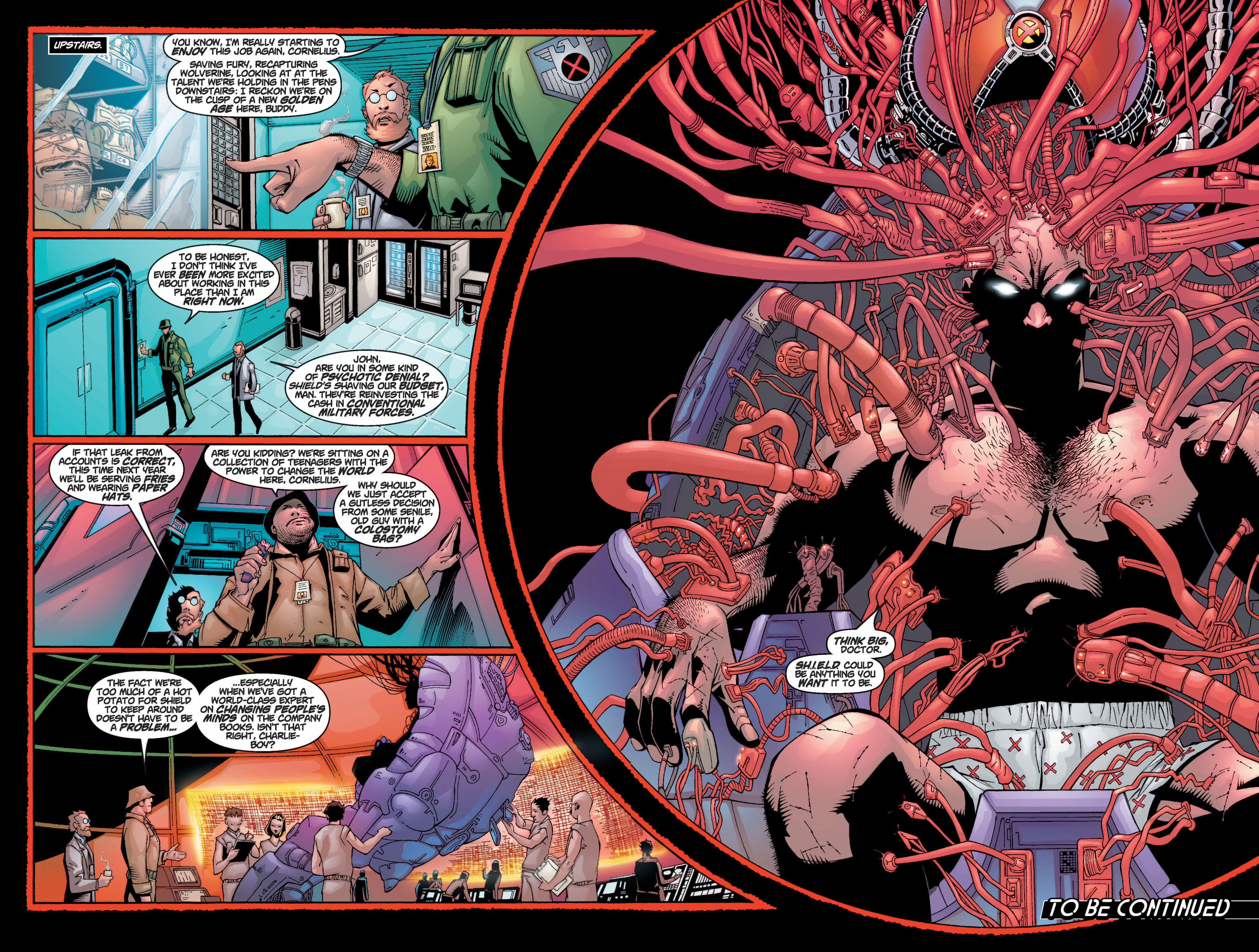 Read online Ultimate X-Men comic -  Issue #10 - 21