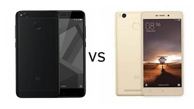 Xiaomi Redmi 4X vs Xiaomi Redmi 3s Prime