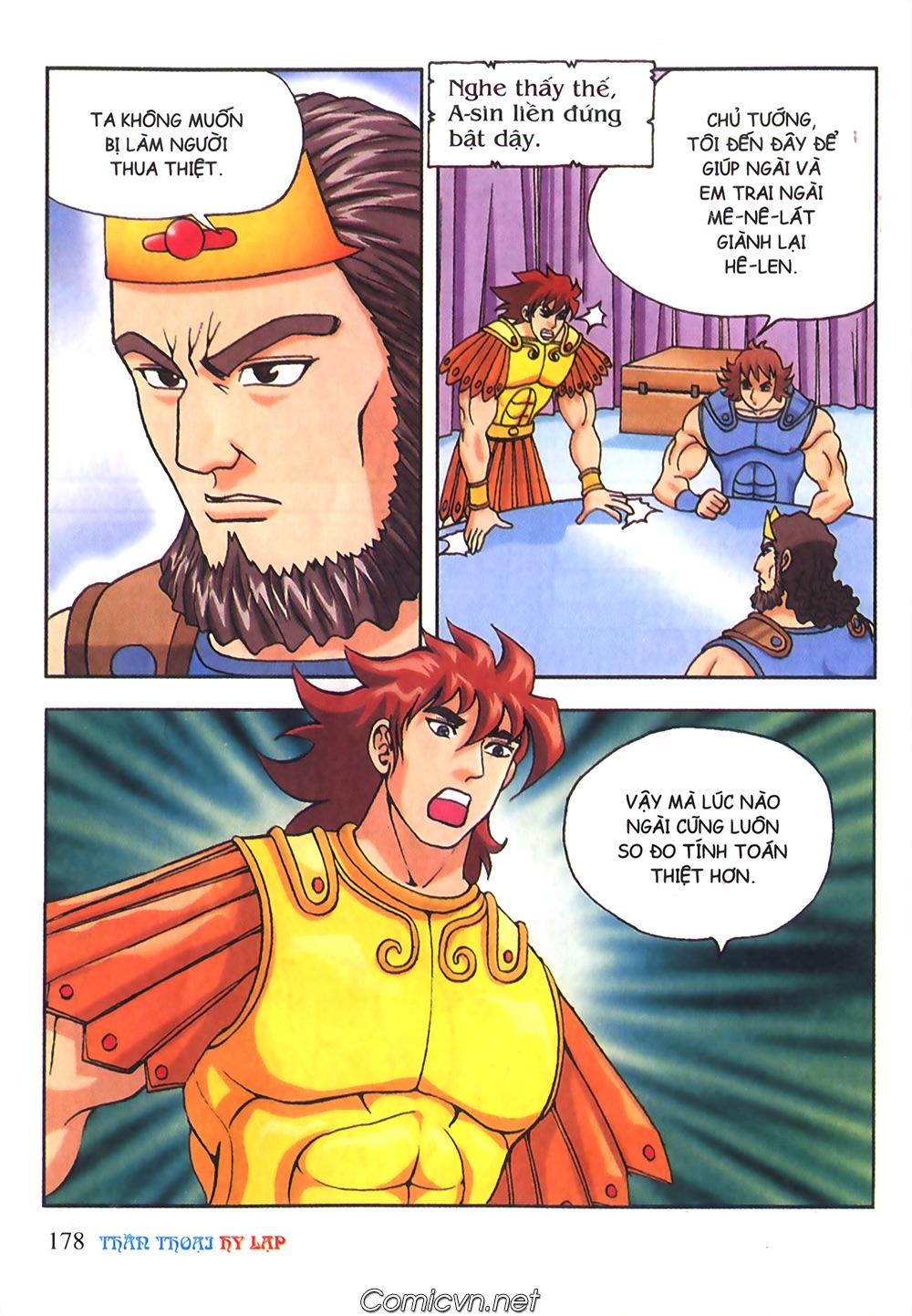 Thần Thoại Hy Lạp Màu - Chapter 56: Hai vị tướng và hai mỹ nữ - Pic 31