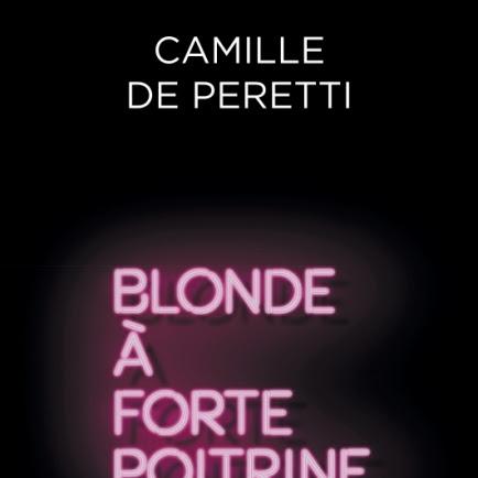 Blonde à forte poitrine de Camille de Peretti