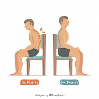 egészséges gerinc, rossz tartás, tartás hiba, helyes ülés, ülőmunka, ülő életmód