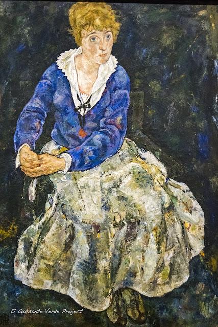 Egon Schiele: Retato de Edith Schiele - Belvedere Museum, Viena por El Guisante Verde Project