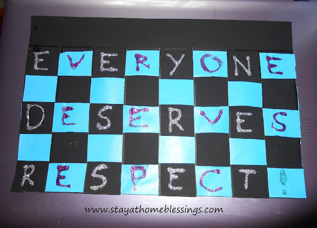 Everyone deserves respect