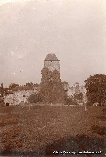 Photo de famille noir et blanc en Haute-Loire