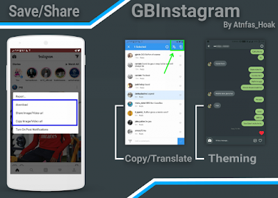 Screenshot Instagram Mod GbInsta Plus