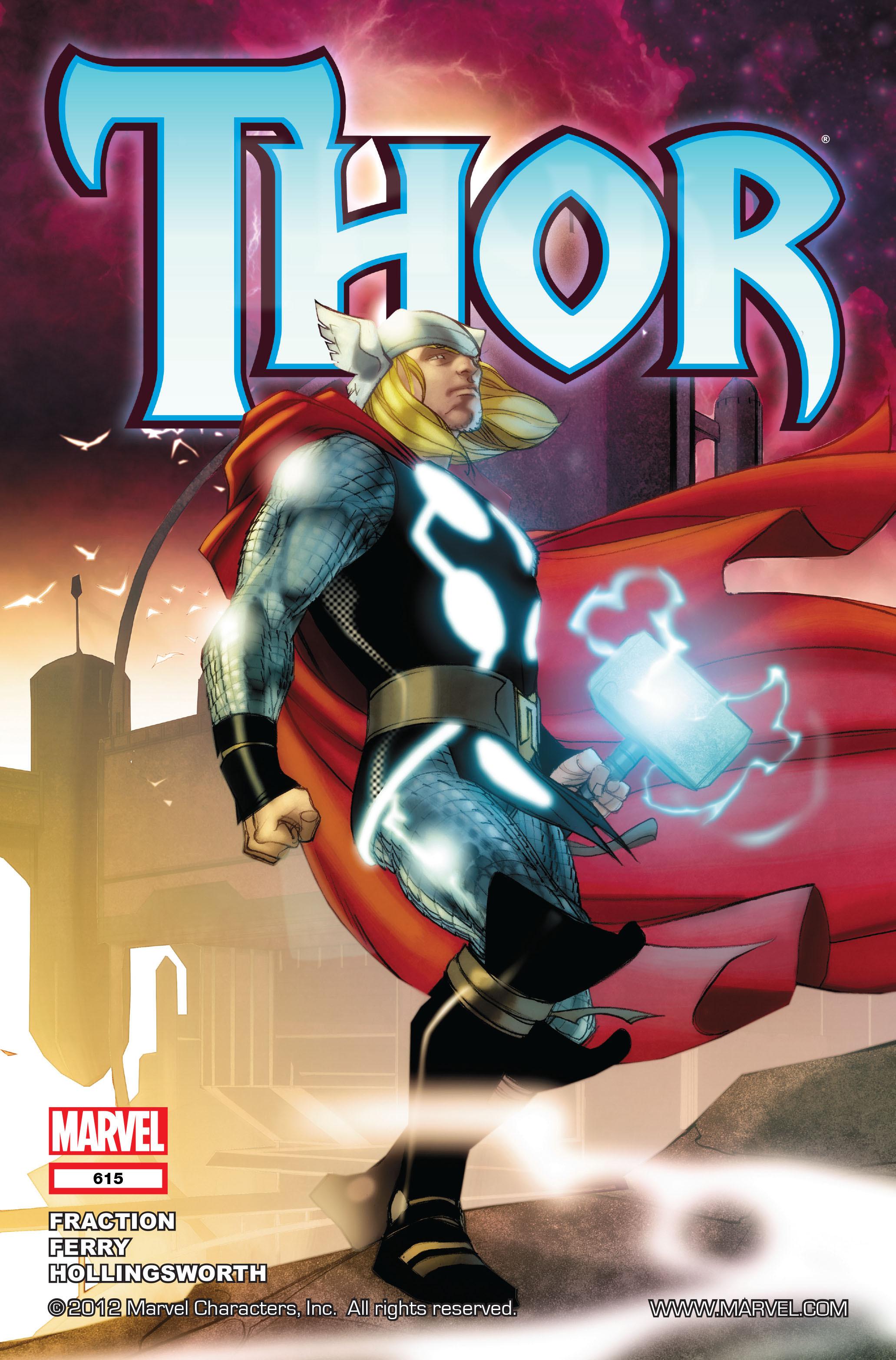 Thor (2007) Issue #615 #28 - English 1