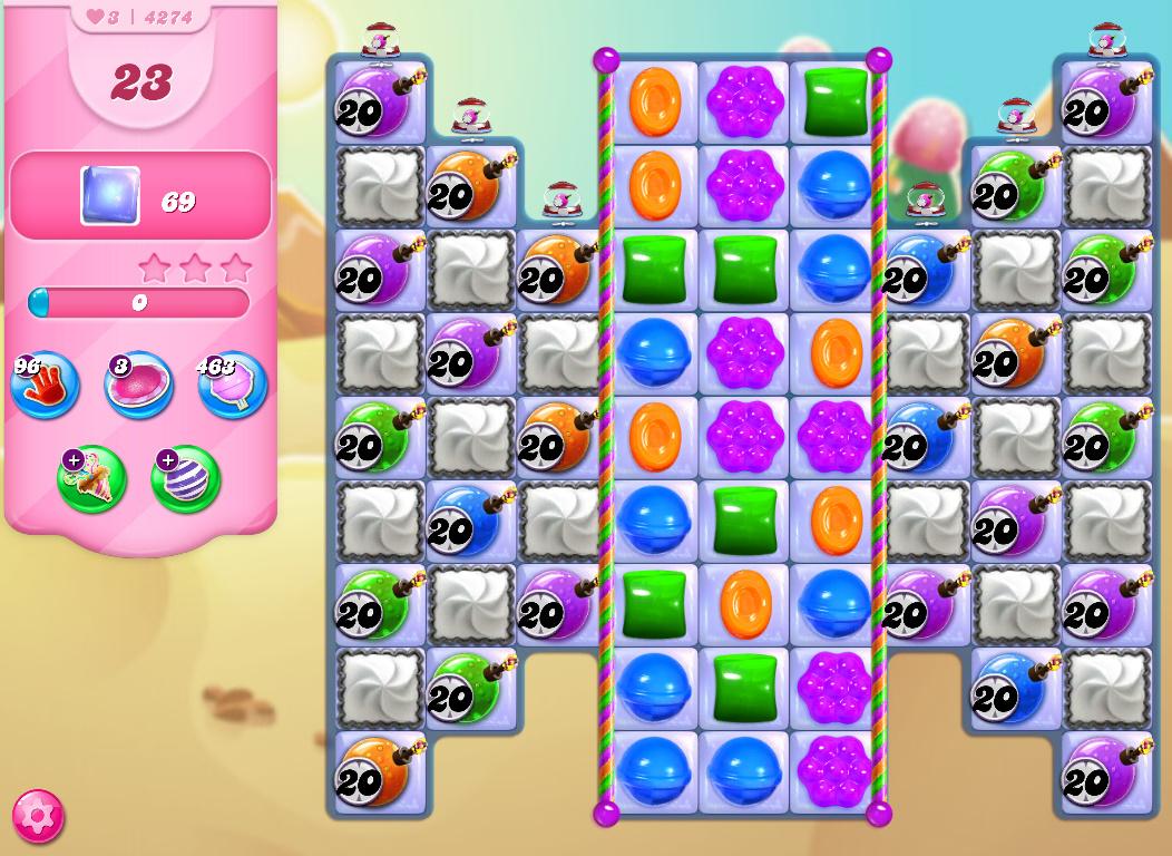 Candy Crush Saga level 4274