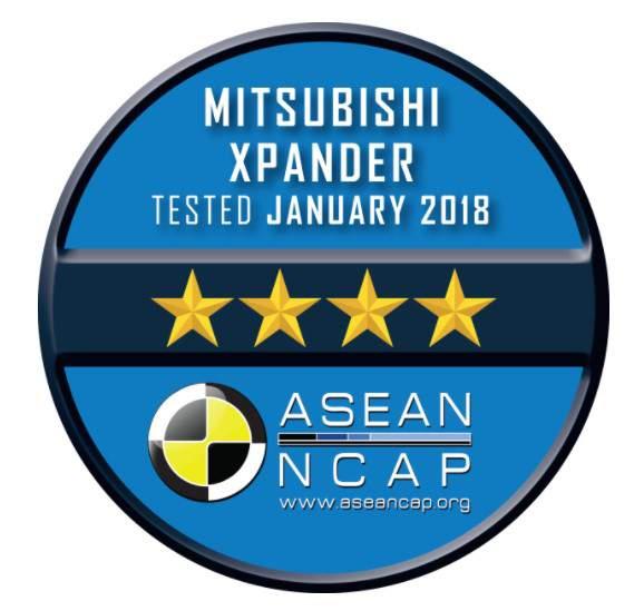 Mitsubishi_Xpander_raih _Bintang_4_ASean_Ncap