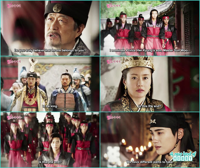the crowning ceremony of king jinheung - Hwarang: Episode 20 Finale Preview