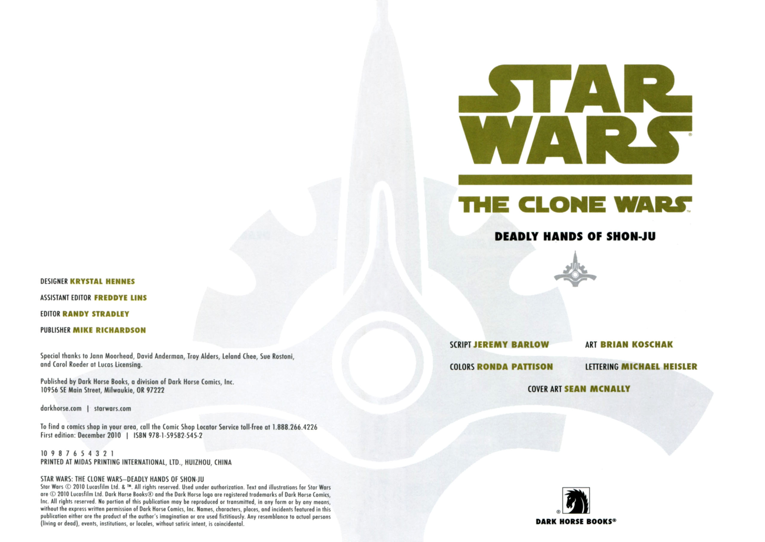 Read online Star Wars: The Clone Wars - Deadly Hands of Shon-Ju comic -  Issue # Full - 4