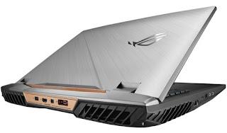 το Laptop  του πρωτότυπου μοντέλου Chimera της ASUS.