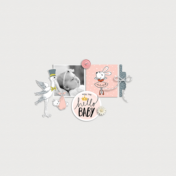 hello baby © sylvia • sro 2019 • little one girl by rachel etrog designs