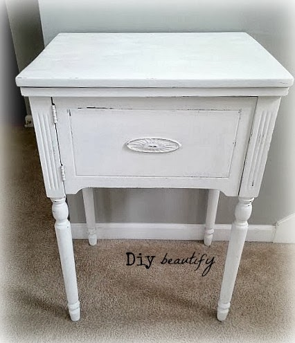 Fresh Coat of White on 3 Pieces, Now What? www.diybeautify.com