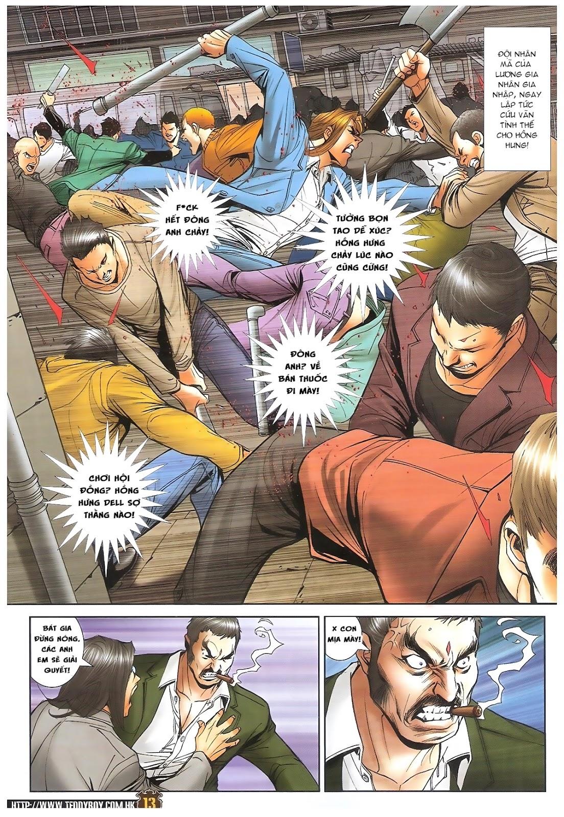Người Trong Giang Hồ - Ngũ Hổ qui thiên - Chapter 1691: Bắc Giác đại hỏa đấu - Pic 10
