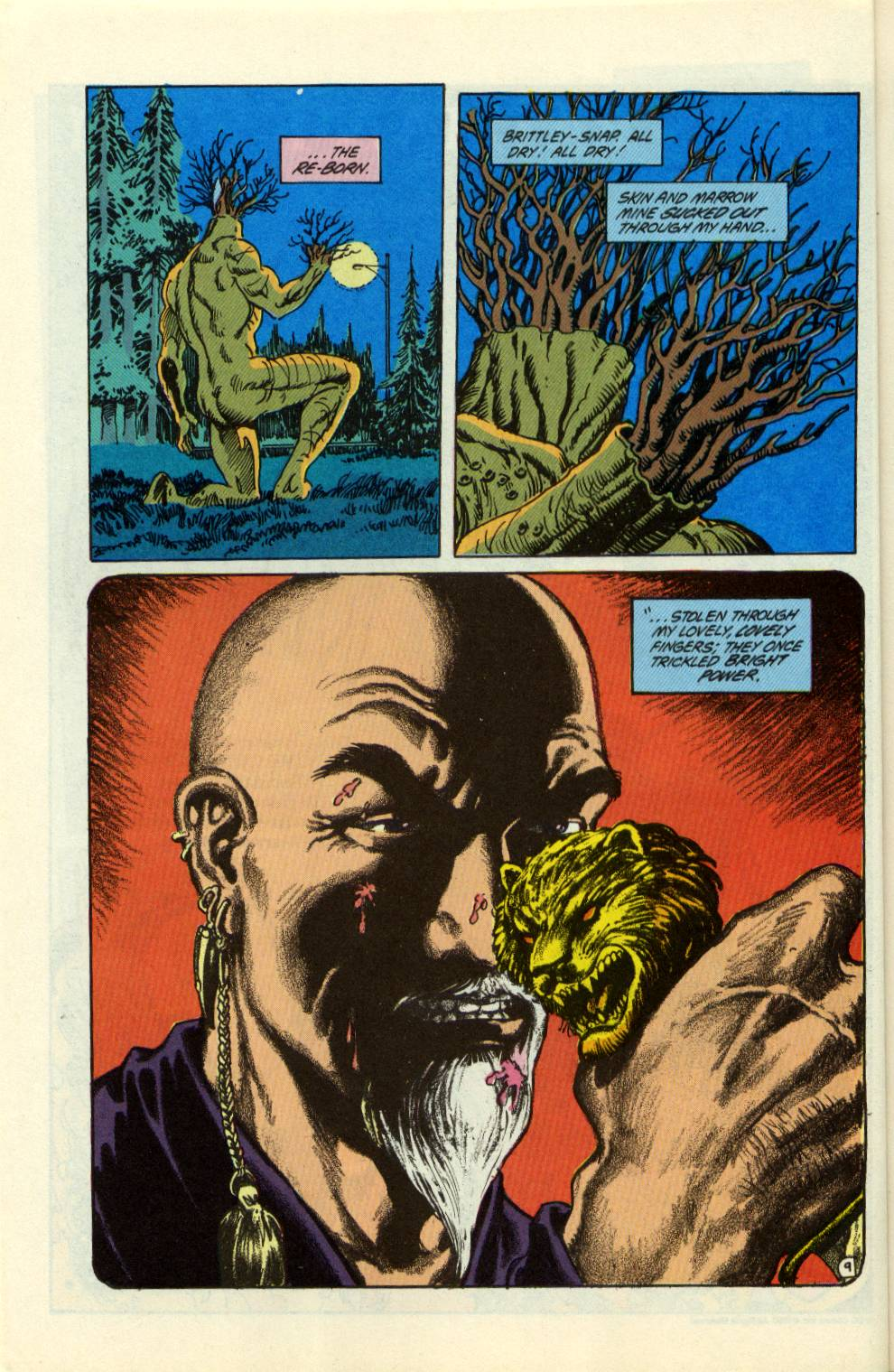 Swamp Thing (1982) Issue #99 #107 - English 10