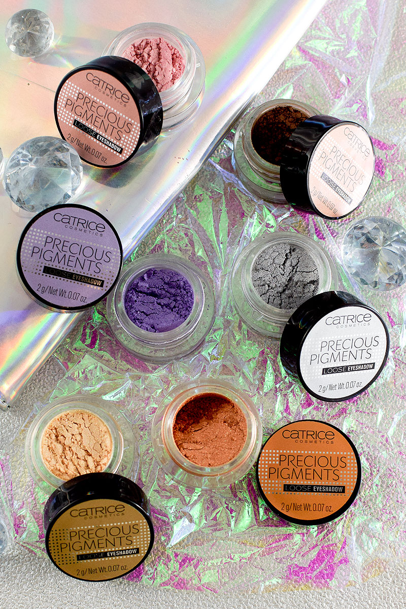 Catrice Precious Pigments Loos Eyeshadows, Catrice neues Sortiment  Frühjahr Sommer 2018,